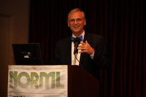 Congressman Earl Blumenauer (D-OR) speaking a NORML Conference