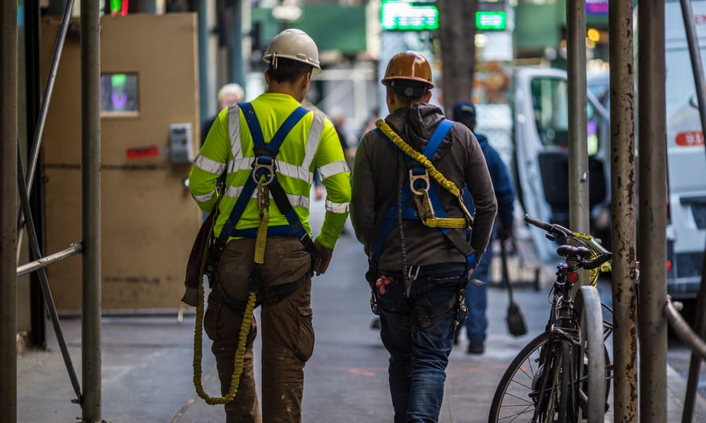 Are Nyc Construction Workers Smoking Weed On The Job