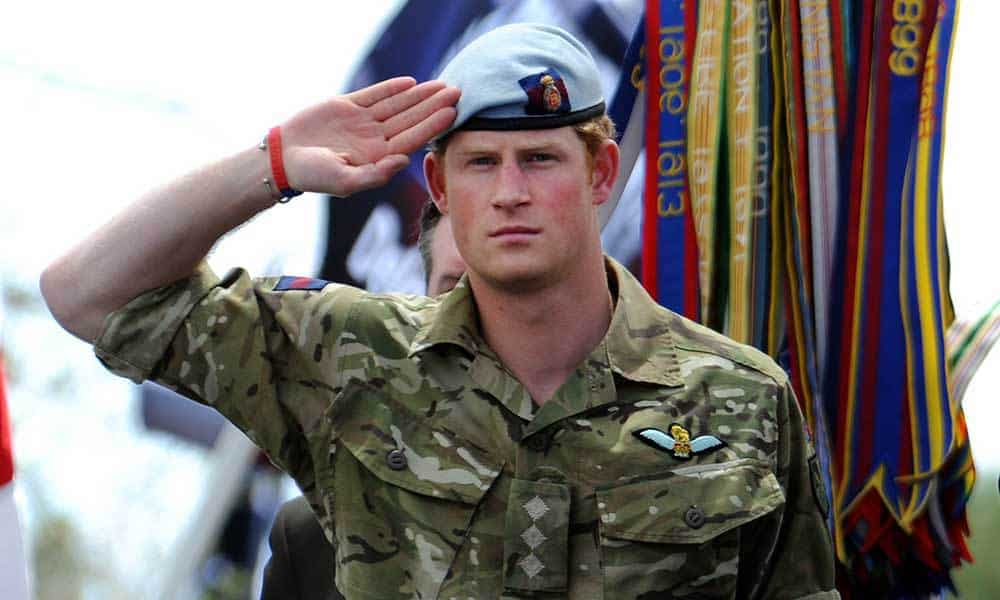 Image result for prince harry air corps