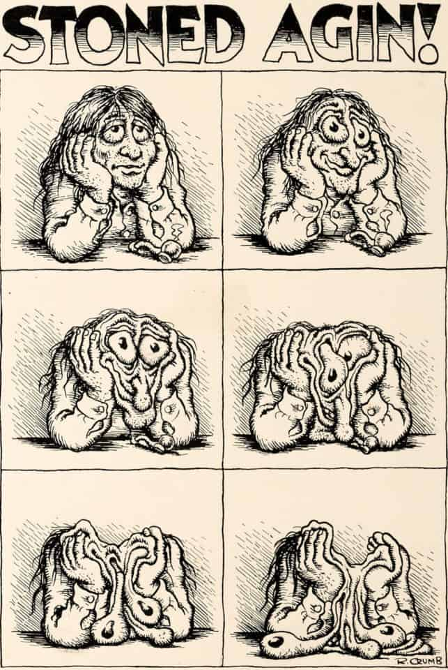 Robert Crumb's Stoner Art Worth up to a Quarter Million Dollars Goes to Auction