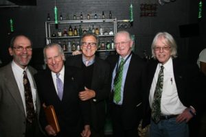 Bill Rittenberg, Gerry Goldstein, Michael Stepanian, Michael J. Kennedy, and Keith Stroup at a Cannabis Cup event in Denver, CO