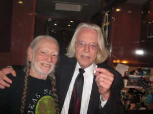 Keith Stroup and Willie Nelson on the Honeysuckle Rose