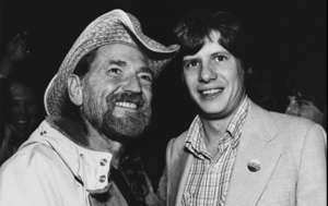 Willie Nelson Chip Carter in 1980
