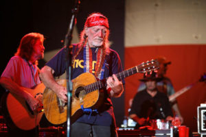 Willie Nelson plays at 2007 Freedom Fest NORML benefit concert